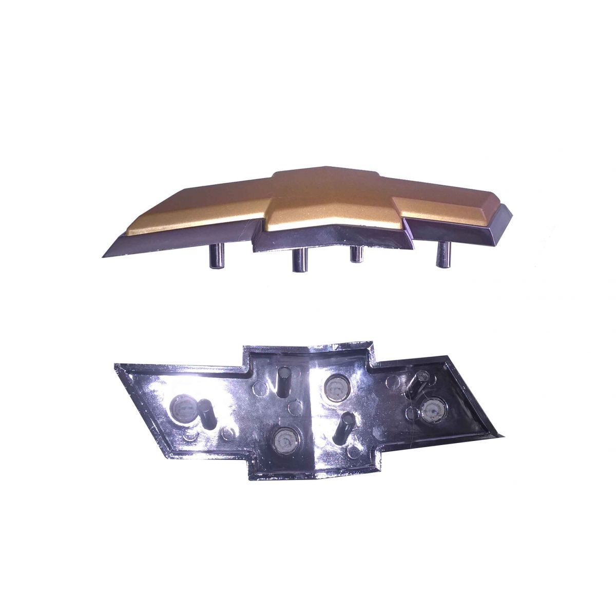 Kit Parachoque Liso Kit Milha Grade C/ Emblema Corsa 00/10