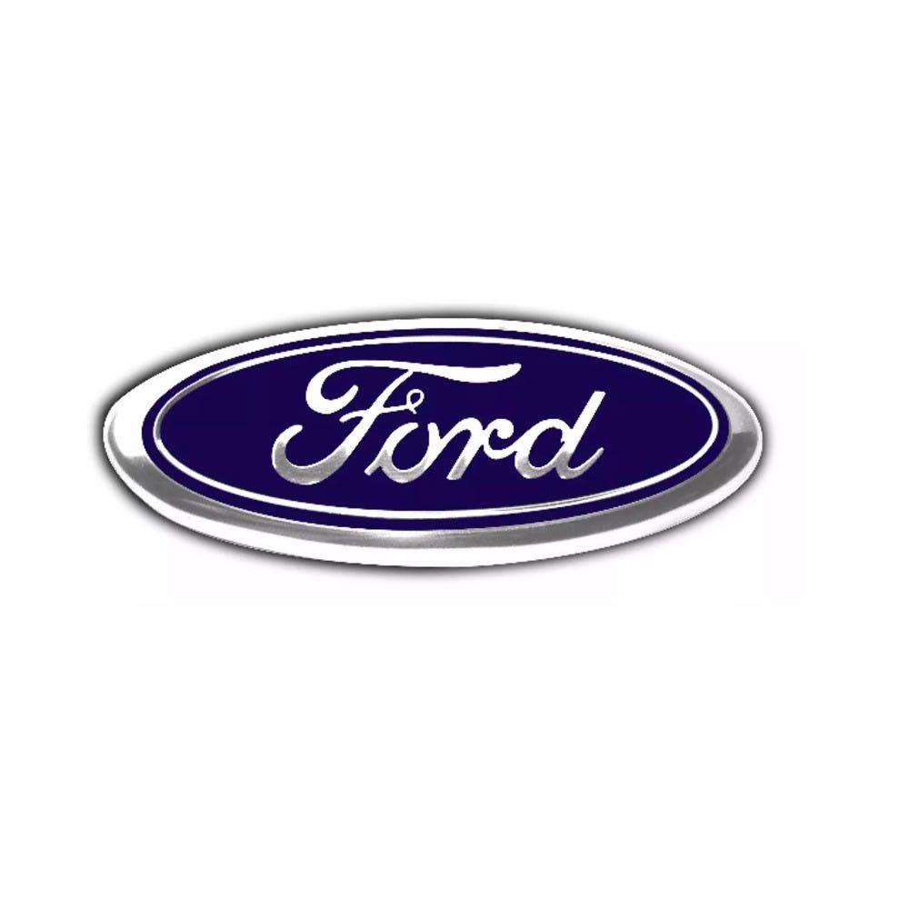 emblema ford da grade fiesta 08/10 ford ka 08/12 46mm/116mm