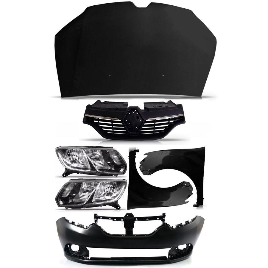 Kit Frente Renault Sandero Logan 2014 2015 2016 14 15 16