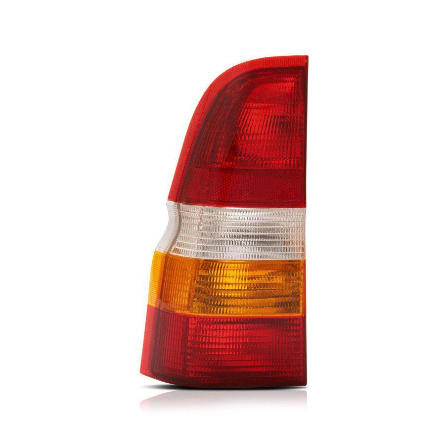 lanterna traseira escort sw perua 97 98 99 00 01 02 tricolor