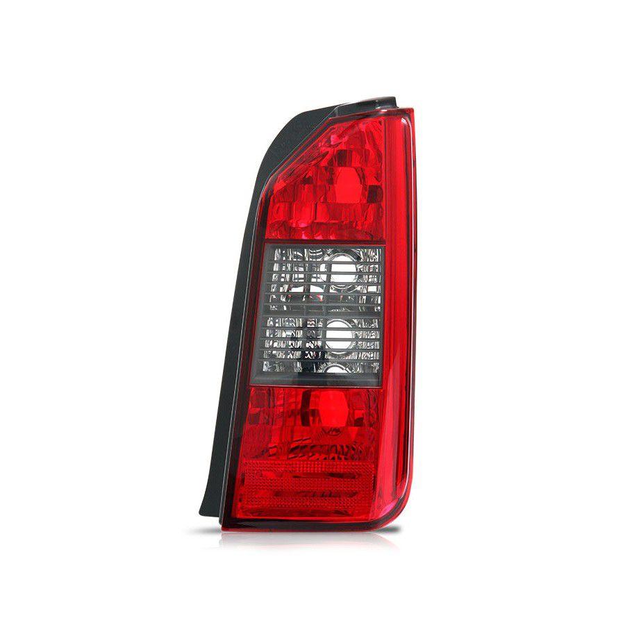 Lanterna Traseira Idea 04 05 06 07 08 09 10 Grade Preta