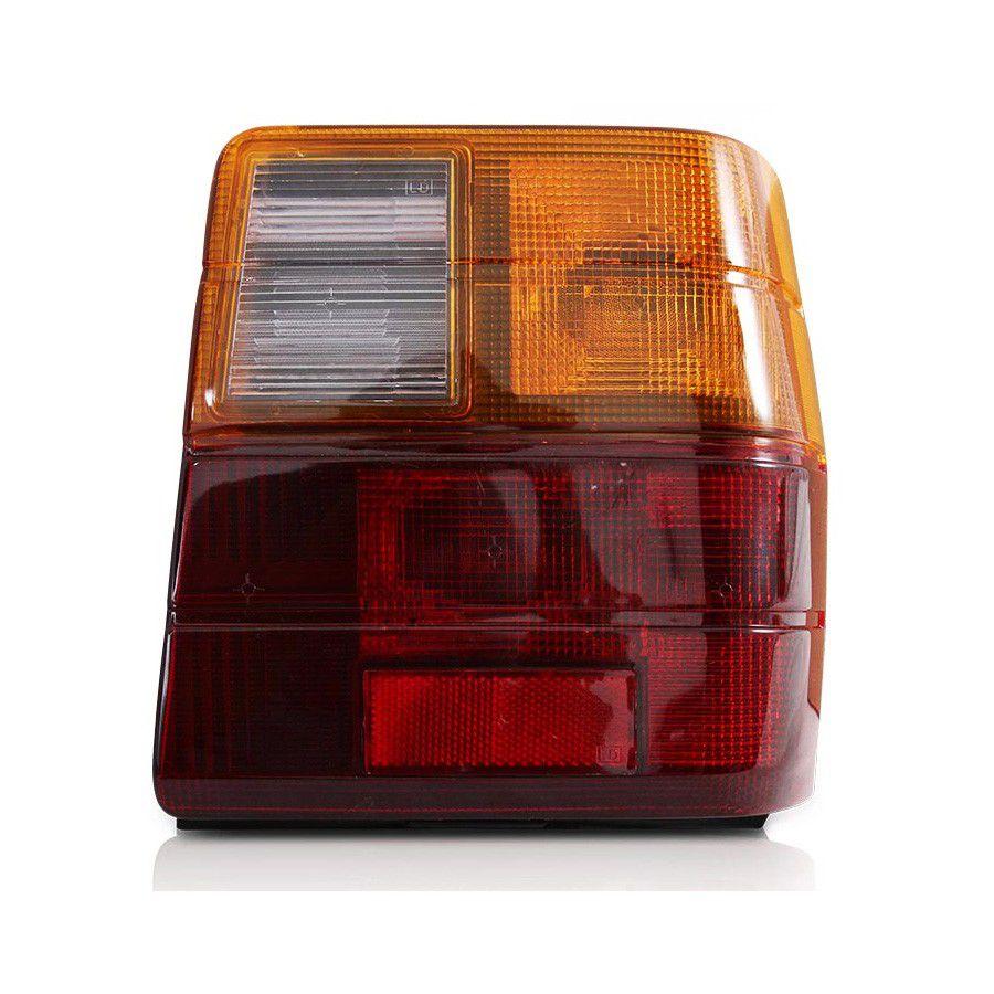 lanterna traseira tricolor uno 85 a 2004 acrilico