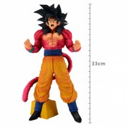Action Figure Dragon Ball Goku Super Sayajin 4 Super Master Star Piece The Brush GT 27947/27948