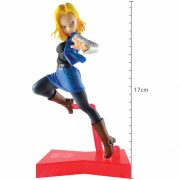 Action Figure Dragon Ball Super Android 18 The Android Battle 29217/29218