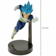 Action Figure Dragon Ball Super Vegeta Super Sayajin Blue Z Battle 34828/34829