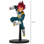 Action Figure Dragon Ball Super Vegeta Super Sayajin God Blood Of Sayajins 20511/20512