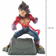 Action Figure Dragon Ball Vegeta Super Sayajin 4 Diorama GT 39121