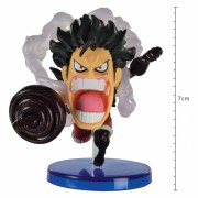 Action Figure One Piece Luffy Snake Man Battle Of Luffy Whole Cake Island WCF 29288/29294