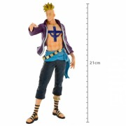 Action Figure One Piece Marco World Figure Colosseum 28657/28658