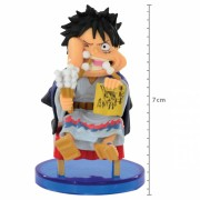 Action Figure One Piece Monkey D Luffy Japanese Style WCF 34637/34641