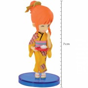 Action Figure One Piece Nami Japanese Style WCF 34637/34639