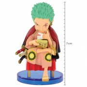 Action Figure One Piece Roronoa Zoro Japanese Style WCF 34637/34638