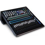 Allen Heath QU-16 Mesa de Som QU16 16 Canais para Gravação e Estúdio Profissional