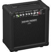 Behringer Virtube VT15Fx Amplificador para Guitarra Iniciante e Home Studio