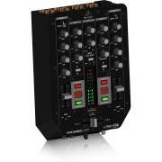 Behringer VMX200 Mixer USB de 2 Canais Behringer VMX200 para Dj Iniciante Home Studio