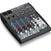 Behringer Xenyx 802 Mesa de Som 802 8 Canais para Performances Eventos e Gravação