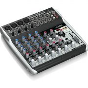 Behringer Xenyx Q1202Usb Mesa de Som Q-1202-Usb 12 Canais para Gravação Profissional