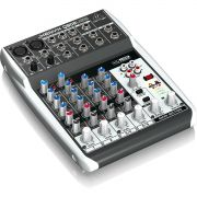 Behringer Xenyx Q802Usb Mesa de Som Q-802-Usb 8 Canais para Gravação e Performances
