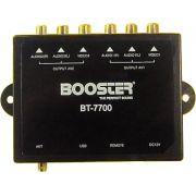 Booster BT-7700 Receptor Digital Antena Automotiva para Sinal de Televisão