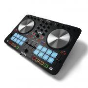 Reloop Beatmix 2 MK2 Controladora DJ Beat Mix 2 2-Decks 2-Canais 16 Pads Serato DJ