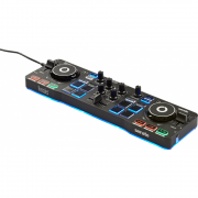 Controladora Hercules DJ Control Starlight 2-decks USB