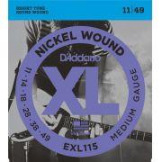 Daddario EXL115 Encordoamento para Guitarra Elétrica
