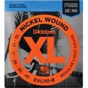 Encordoamento Para Guitarra Daddario EXL110 B 6 Cordas