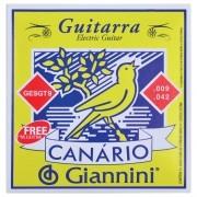 Encordoamento Para Guitarra Giannini GESGT9