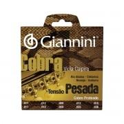 Encordoamento Para Viola Giannini GESVP Aço