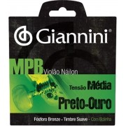 Encordoamento Para Violão Giannini GENWBG Nylon