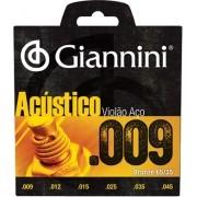 Encordoamento Para Violão Giannini GESWAL