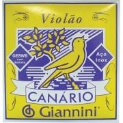 Encordoamento Para Violão Giannini GESWB Aço