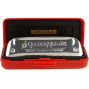 Hohner Golden Melody 542/20 Gaita Harmônica Ideal para Músicos de Jazz