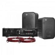 Kit Caixa de Som e Amplificador Hayonik Ambience 2000