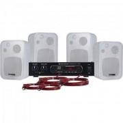 Kit Caixa de Som e Amplificador Hayonik Ambience 4000