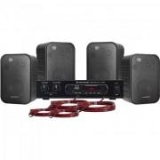 Kit Caixa de Som e Amplificador Hayonik Ambience Line 4000