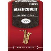Plasticover 2,5 Palheta para Saxofone Barítono Ideal para Apresentações Externas Kit