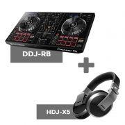 Kit Dj Basico 01 para Dj Iniciantes DDJ-RB + HDJ-X5