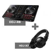 Kit Dj Basico 02 para Dj Iniciantes DDJ-RB + HDJ-X7