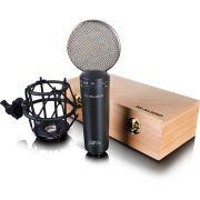 M-Audio Luna II Microfone Condensador Cardioide M-Audio Luna-II para Estúdio