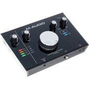 M-Audio M-Track 2x2 Interface de Audio MTrack 2 x 2 Usb 24-Bit 192-Khz Pc Mac Cubase