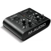 M-Audio M-Track Plus Interface de Áudio Mtrack Plus 2x2 Usb Midi S/Pdif Pro Tools