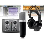M-Audio Vocal Studio Pro Kit Vocal M-Audio Studio Pro para Gravação e Home Studio