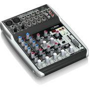 Behringer Xenyx Q1002Usb Mesa de Som Q-1002-Usb 10 Canais para Gravação Performances