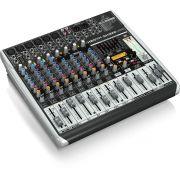 Behringer Xenyx Qx1222Usb Mesa de Som QX-1222-Usb 12 Canais para Gravações