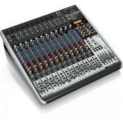 Behringer Xenyx Qx2442Usb Mesa de Som QX-2442-Usb 24 Canais para Gravação Home Studio
