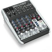 Behringer Xenyx Qx602 Mp3 Mesa de Som QX-602-Mp3 6 Canais para Performances e Eventos