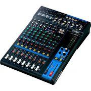 Yamaha MG12 Mesa de Som MG-12 12 Canais Analógica para Precisão e Controle na Mixagem