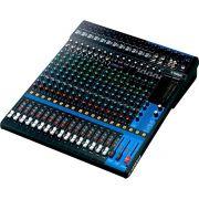 Yamaha MG20 Mesa de Som MG-20 20 Canais Analógica Profissional para Mixagem