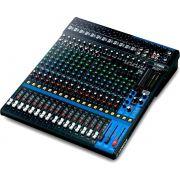 Yamaha MG20XU Mesa de Som MG-20-XU 20 Canais Analógica para Mixagens e Processamento